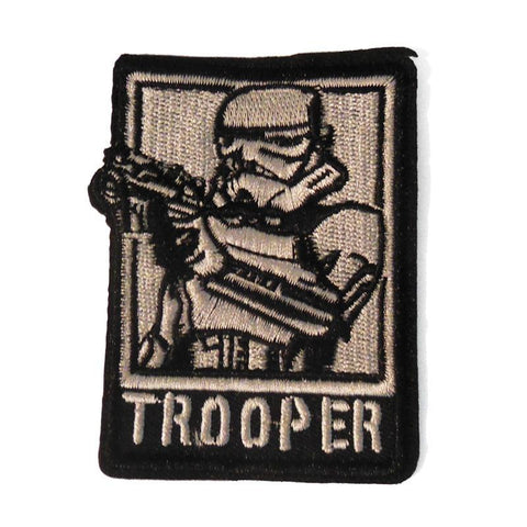 Trooper Embroidered Patch