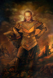 Vigo the Carpathian Portrait Print