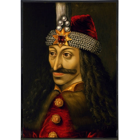 Vlad the Impaler Portrait Print