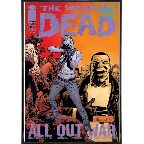 Walking Dead Issue 125 Cover Print