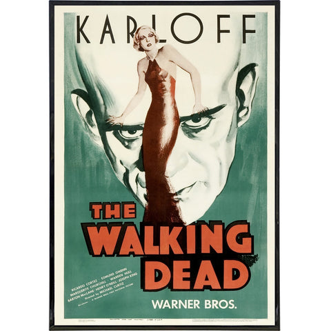 The Walking Dead 1936 Film Poster Print