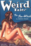 "Weird Tales ""The Sea Witch"" Pulp Comic Print"