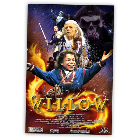 Willow Film Poster Postcard