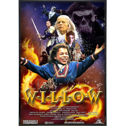Willow Film Poster Print