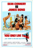 You Only Live Twice Poster Print