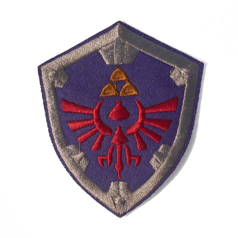 Shield of Hyrule Embroidered Patch - Falstaff Trading