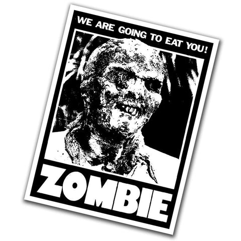 Zombie Sticker - Falstaff Trading