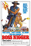 Boss Nigger Film Poster Print - Falstaff Trading / Nerd culture, Horror, B-movies, cult classic - uniquely cool / falstafftrading.com