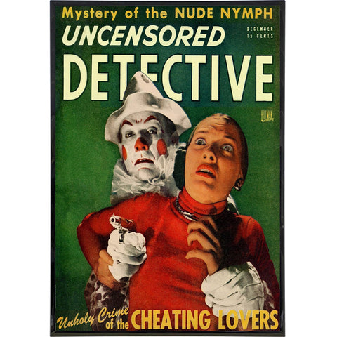 Uncensored Detective Cover Print