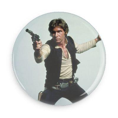 Han Solo Button - TheOriginalUnderground