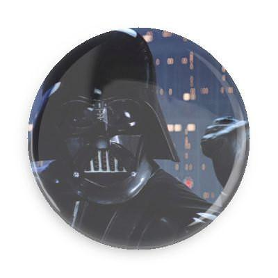 Darth Vader Button - Falstaff Trading / Nerd culture, Horror, B-movies, cult classic - uniquely cool / falstafftrading.com