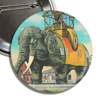 Lucy The Elephant Button - TheOriginalUnderground