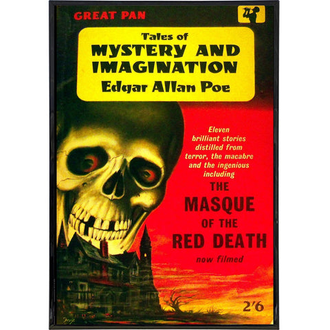 Tales of Mystery and Imagination Cover Print