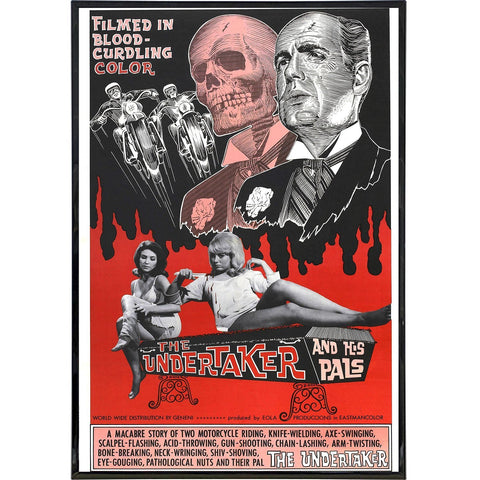 The Undertaker and His Pals Film Poster Print