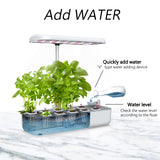 Masmire Hydroponics Growing System,Support Indoor Grow,herb Garden kit Indoor, Grow Smart for Plant, Built Your Indoor Garden (Cube 10A)