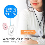 Masmire Portable Air Purifier, Hanging Neck Negative Lon Air Filter for Purifying Air PM2.5 Smog Smo
