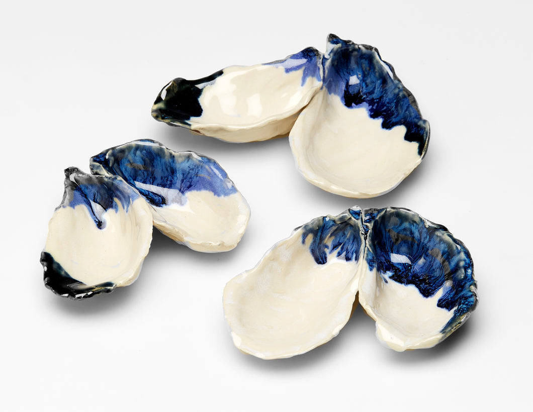 Featured Product! Oyster Salt & Pepper Dishes