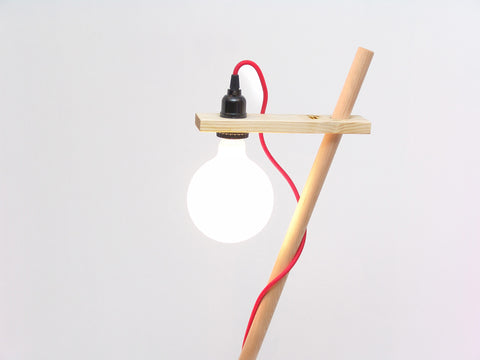 Free-standing Polo Lamp
