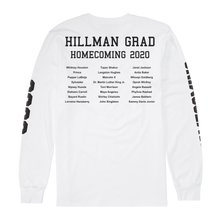 Load image into Gallery viewer, Hillman Grad White Longsleeve T-Shirt