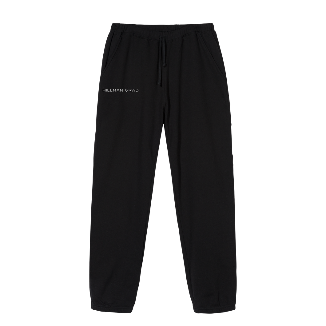 Hillman Grad Black Sweatpants