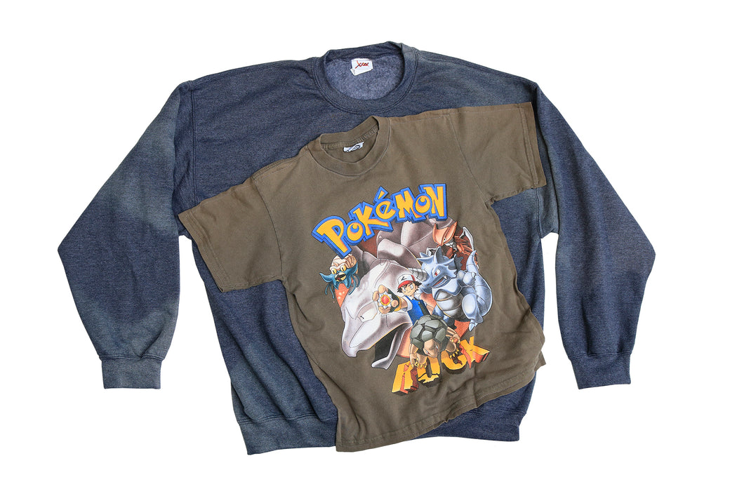 RTM Rock Type Pokemon Crewneck