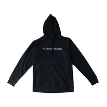 Load image into Gallery viewer, RTM x Die Dreaming Midwest Dreaming Logo Hoodie Black