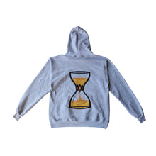 Load image into Gallery viewer, RTM x Die Dreaming Hourglass Logo Hoodie Grey