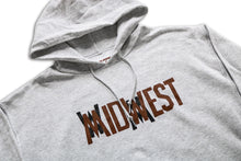 Load image into Gallery viewer, Midwest Logo Hooded Sweatshirt Ash Grey