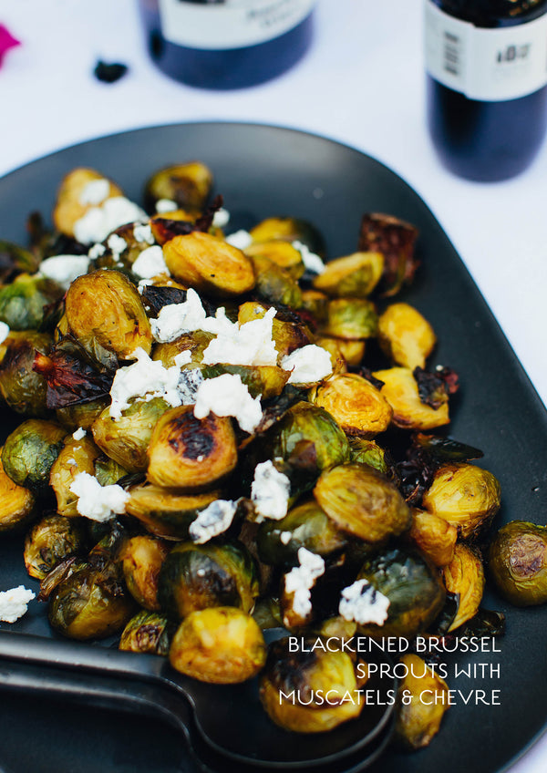 Blackened Brussel Sprouts
