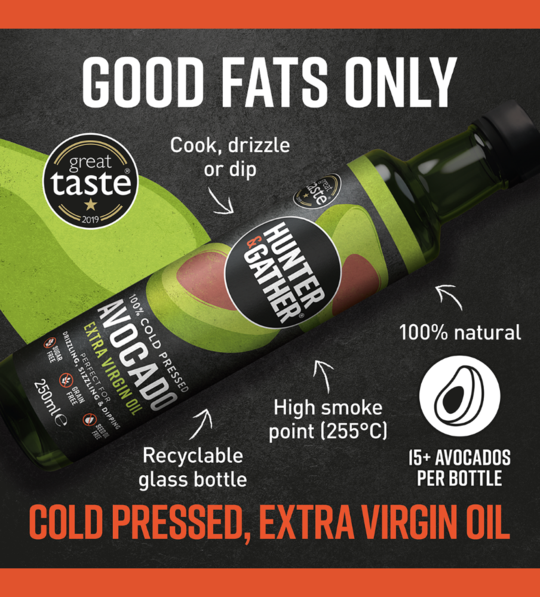 Cold Pressed Extra Virgin Avocado Oil (250ml)
