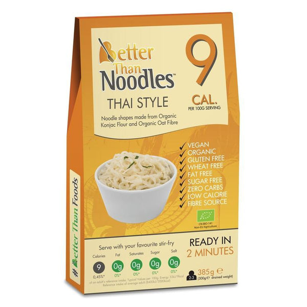 Better Than Organic Thai Style Noodle Shapes 385g