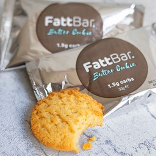 Fattbar ketogenic cookie for healthy fats and fibre