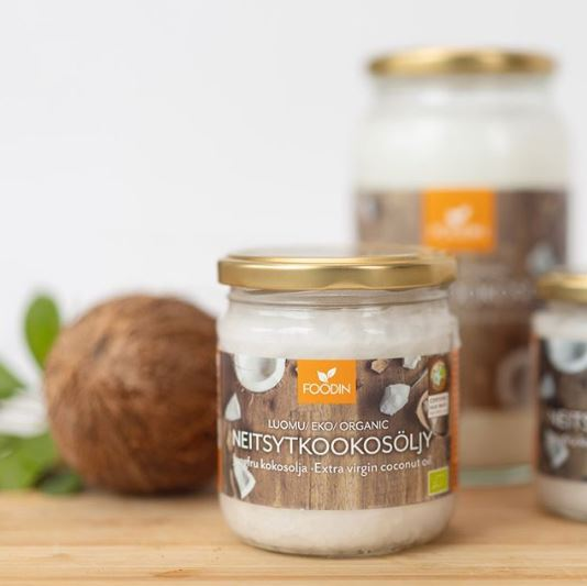 Coconut oil for keto cooking