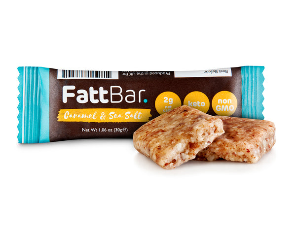 FattBar - Caramel & Sea Salt