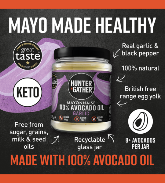 Garlic Avocado Oil Mayonnaise (175g) - Aioli