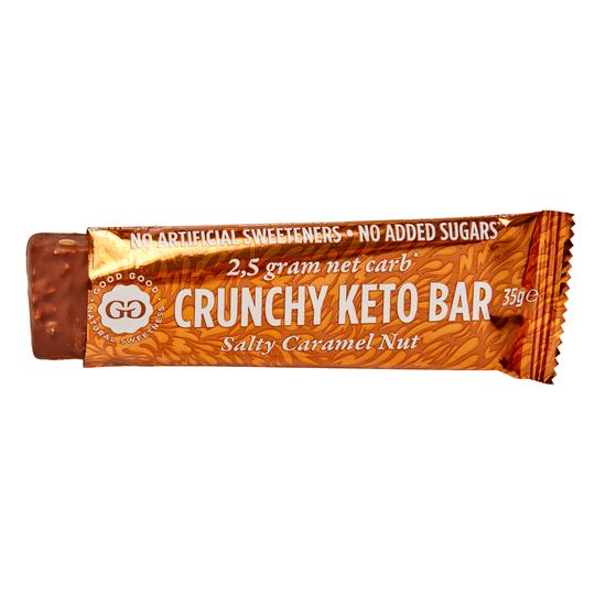 5 x Good Good - Salty Caramel Nut Bar (35g - PACK OF 5pcs)