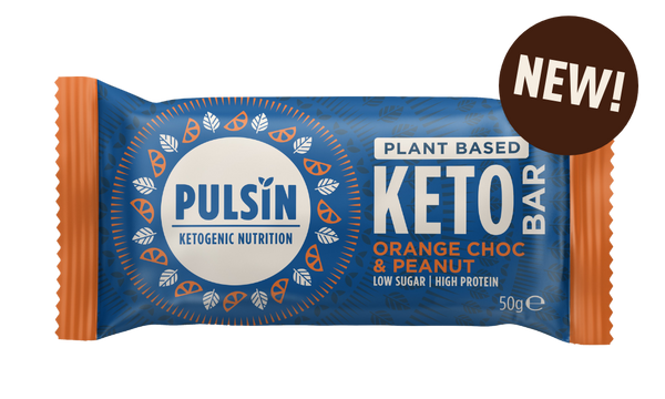 Pulsin Choc Orange & Peanut Keto Bar (50g)