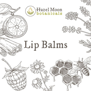 Tea-Infused Lip Balms made with Organic Ingredients