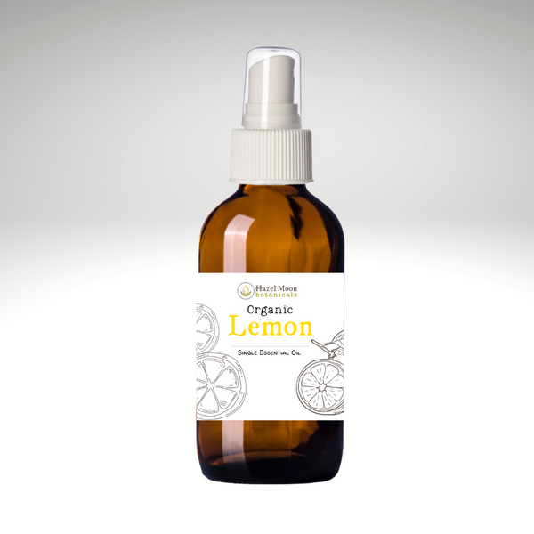 Organic Lemon Aromatherapy Spray