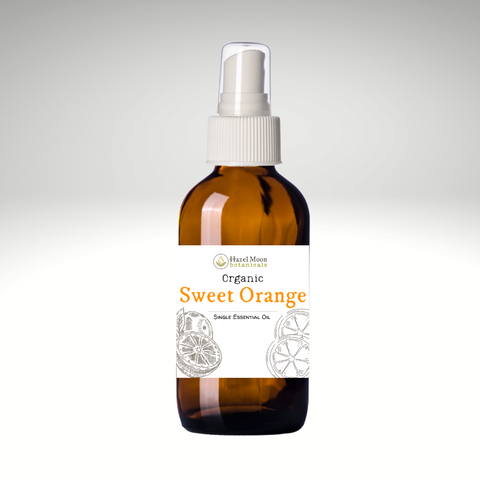 Organic Sweet Orange Aromatherapy Spray