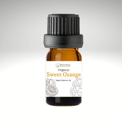 Organic Sweet Orange Pure Essential Oil