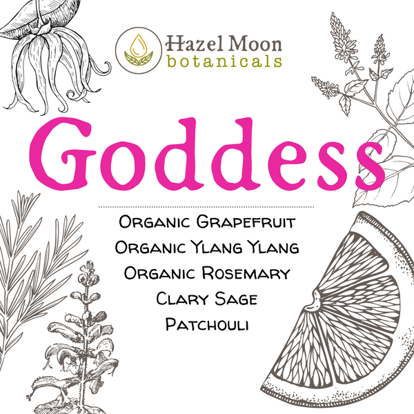 Goddess Pure Essential Oil Blend