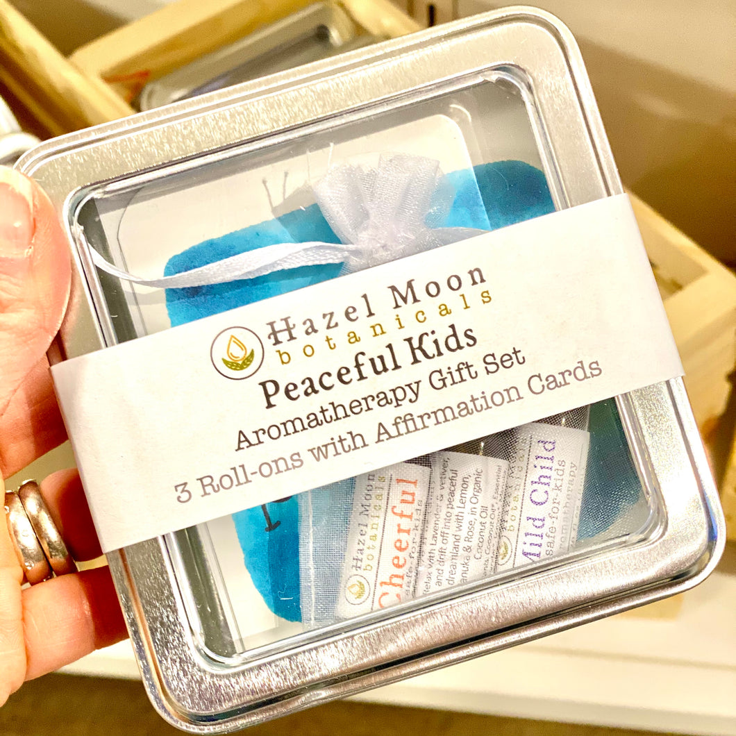Peaceful Kids Aromatherapy Gift Set