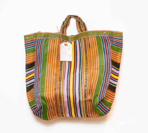 MARKET BAG PINK, GREEN, OCHER <3