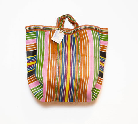 MARKET BAG PINK, BLUE, YELLOW  <3