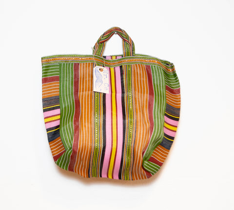 MARKET BAG PINK AND YELLOW <3