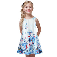 Summer Sleeveless Party Dresses (5T-9Y)
