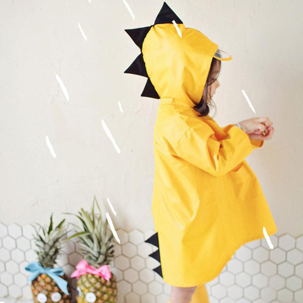 Kids Dinosaur Raincoat