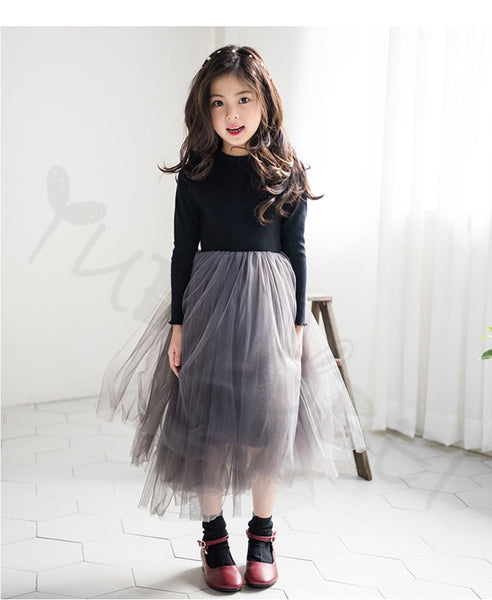 Princess Tulle Evening Dress (4T-14Y)