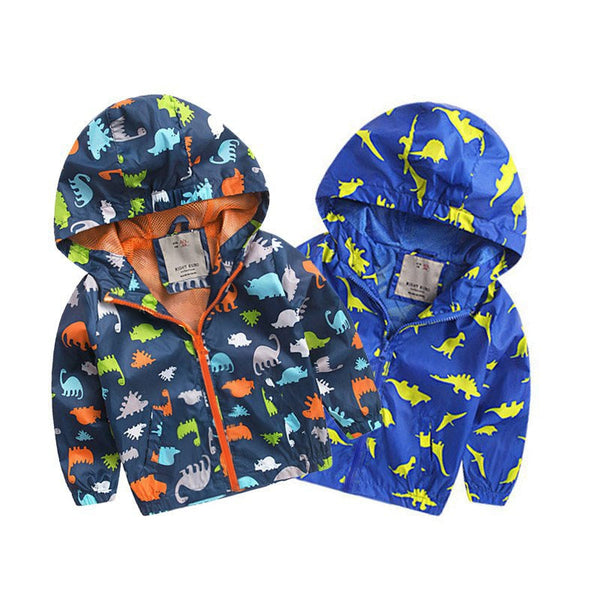 Toddler Cartoon Rain Jacket
